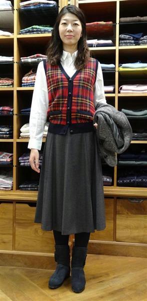 秋冬最新トレンドは「ミモレ丈スカート」 上半身をすっきりと ...