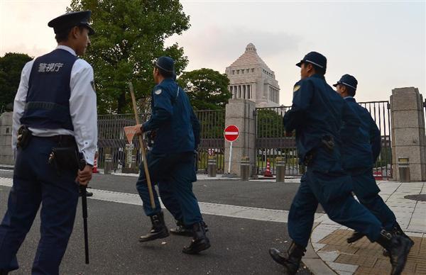 日本の議論】警察捜査を阻む「国会法114条」 国会侵入男は90分も ...