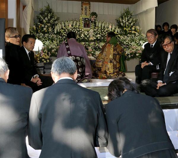 福田みどりさん葬儀営まれる 「...