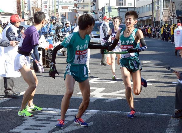 青学が箱根駅伝往路優勝で2連覇!...