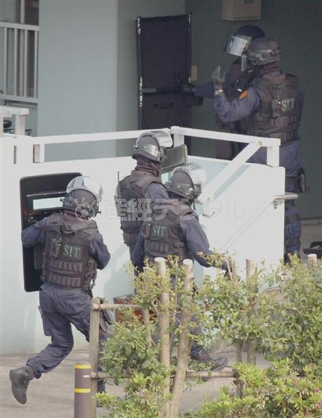 日本の議論 イスラム国事件 急派 警察の情報特殊部隊 TRT 2