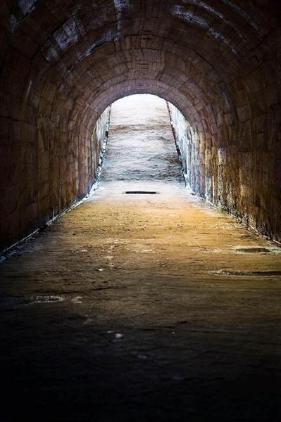 全長約5キロに上る連合艦隊司令部日吉地下壕=横浜市港北区(神奈川県立歴史博物館提供)