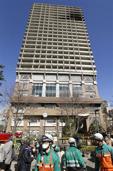 東京・西神田の25階建てマンショ...