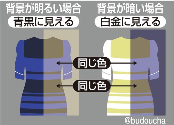 ファッションおたく】このドレス、何色に見える? きゃりー「青