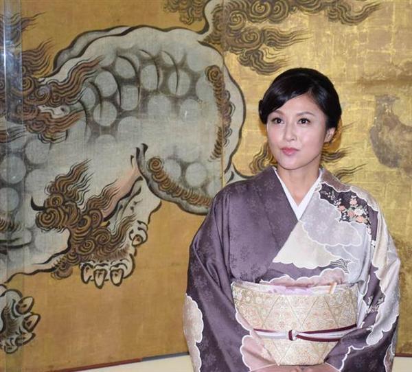 女優の藤原紀香さん、着物姿で「文化財の保存も文化」 京都国立博物館の文化大使に就任 - 産経WE