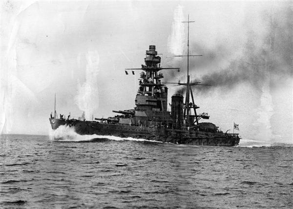 旧日本海軍の戦艦「長門」