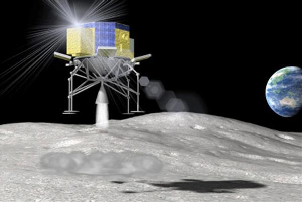 SLIM月面着陸機