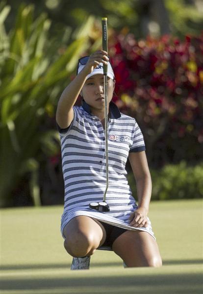 女子 ゴルフ 速報