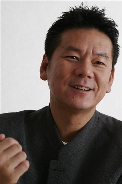 今井雅之さん=2006年6月28日、東京・港区赤坂(大西史朗撮影)