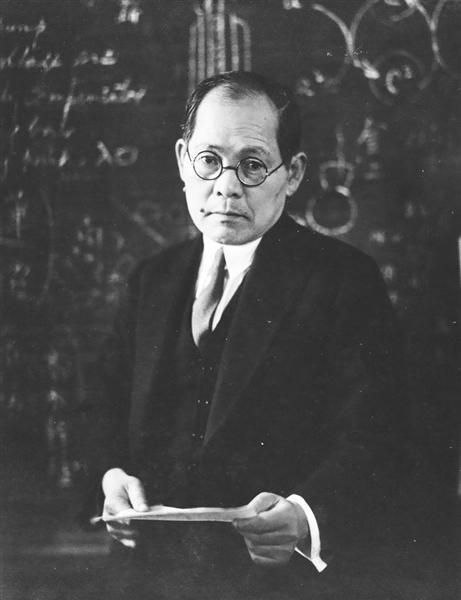 理化学研究所の仁科芳雄博士(仁科記念財団提供)
