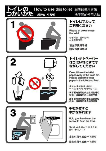 Funny Flush The Toilet Signs