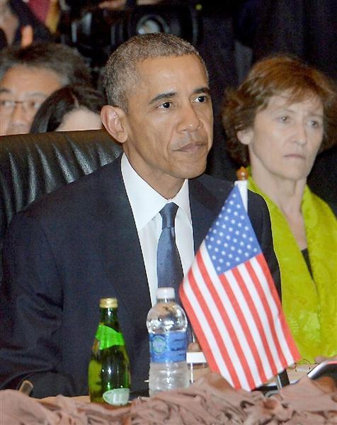 【ASEAN首脳会議】「習氏は約束守れ」 オバマ氏、中国にくぎをさす