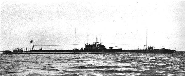 マレー沖開戦に参加した伊58潜水艦