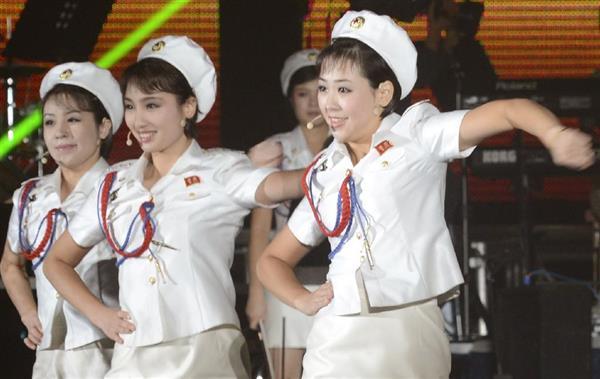 北朝鮮情勢】北のガールズ楽団「...