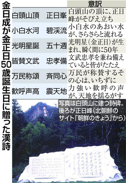 "秘録金正日(55)】壮大な""虚構""..."