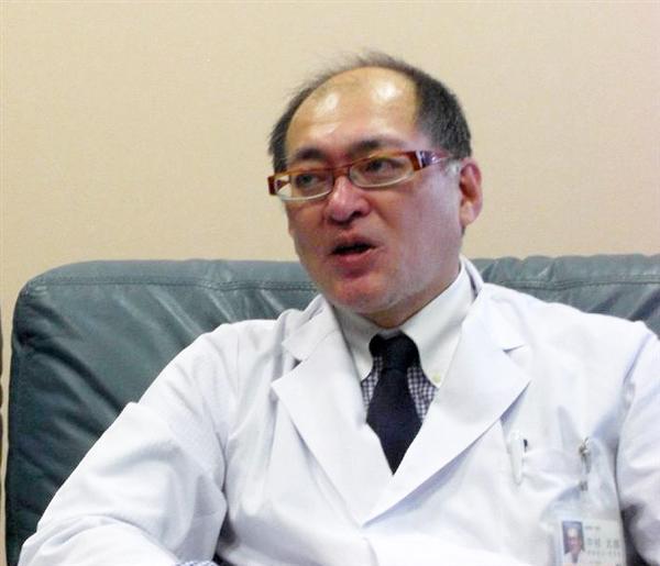 パラリンピックを通した共生社会への理念を語る中村太郎院長=大分市の大分中村病院