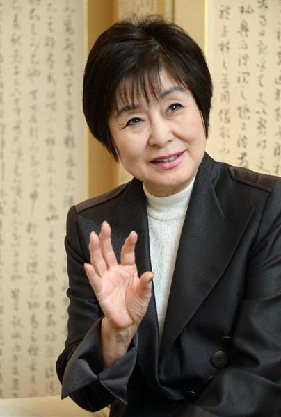 話の肖像画プレミアム】山東昭子...