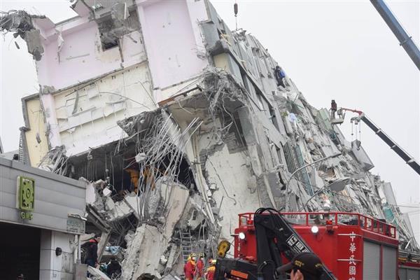 台湾南部地震】中国即座に救援意...