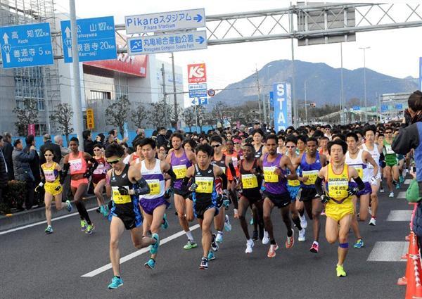 陸上】箱根駅伝組に対抗心 3位の...