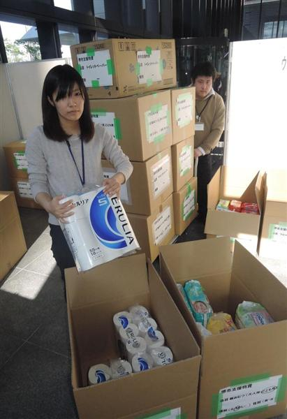 熊本地震】「いつ届く、市民からの支援物資」 熊本市が受け入れ中断で ...