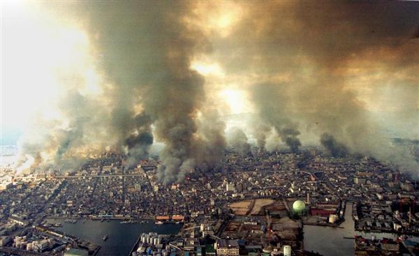 「阪神大震災 火災 画像 」の画像検索結果