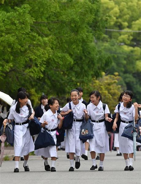 【画像】女子中高生が夏服になる季節がやってきた [無断転載禁止]©2ch.net [609535295]->画像>83枚
