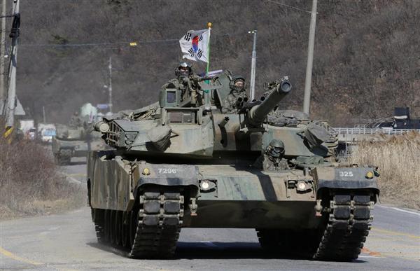 軍事ワールド】韓国の最新戦車「...