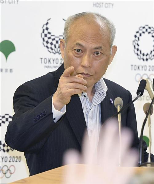 5月27日の会見に出席した東京都の舛添要一知事=東京都庁