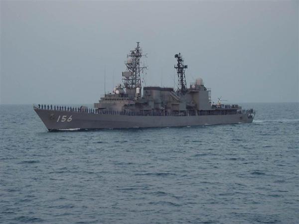 護衛艦「せとぎり」の艦名は「瀬戸に立つ霧」に由来する(海上自衛隊提供)
