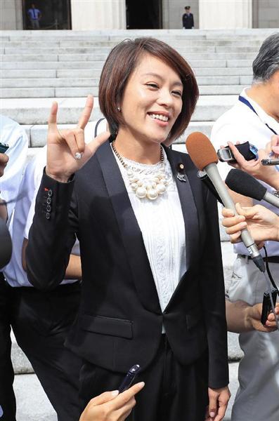 「国民の思いに応えたい」今井絵理子氏ら新人議員、喜びと緊張 , 産経ニュース