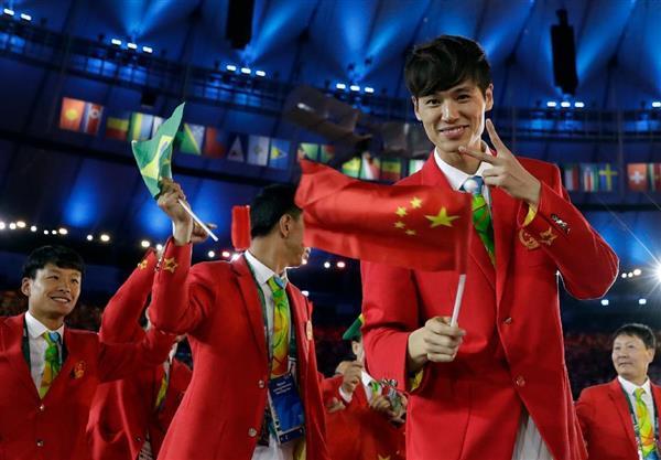 オリンピックの中国選手団 - Chi...