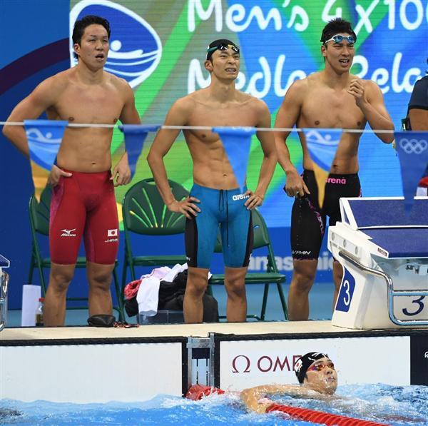 五輪競泳】最終泳者の中村克「かなり悔しいが、悔しい気持ちが