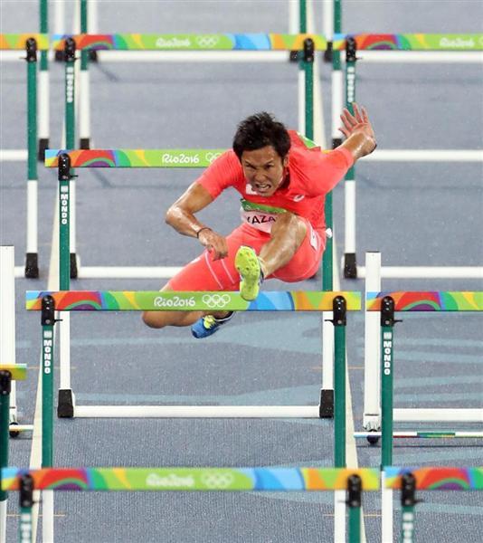 五輪陸上】男子110mハードル予選...