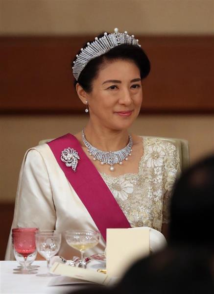 ベルギー国王夫妻を招き宮中晩餐...