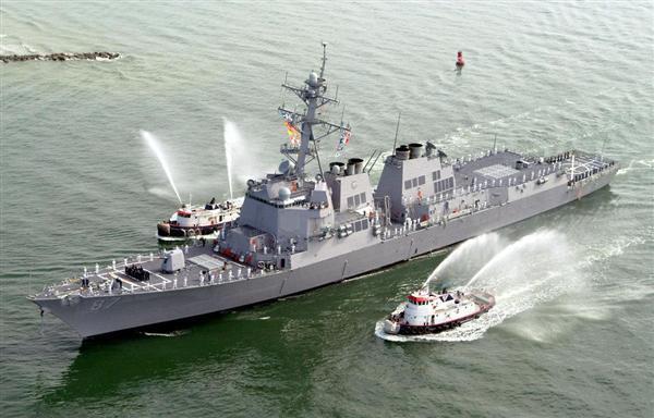 さすがというべきか… シーア派系武装組織の支配地域から米駆逐艦に ...