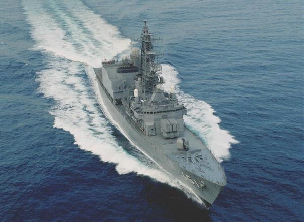 練習艦から再び護衛艦に種別変更された海上自衛隊の「あさぎり」(海自提供)