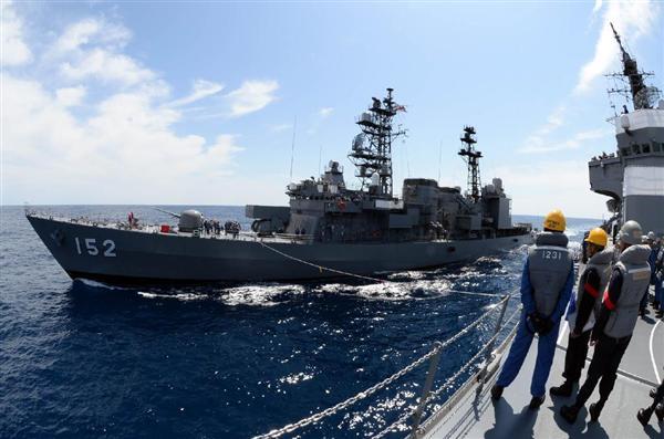 練習艦から再び護衛艦に種別変更された海上自衛隊の「やまぎり」(海自提供)