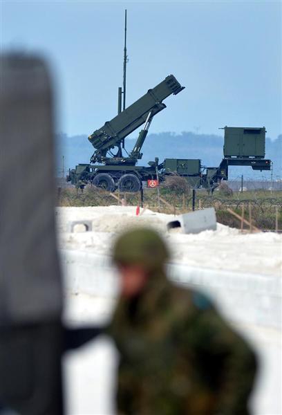 産経ニュース【防衛最前線(93)】高度も射程も2倍! 北ミサイルを迎え撃つ地対空誘導弾(PAC3MSE) それでも「100%」は保証されないSite NavigationニュースプレミアムPR【防衛最前線(93)】高度も射程も2倍! 北ミサイルを迎え撃つ地対空誘導弾(PAC3MSE) それでも「100%」は保証されないPRPRPRご案内PRPR「ニュース」のランキングPR産経スペシャル今週のトピックスPRPR