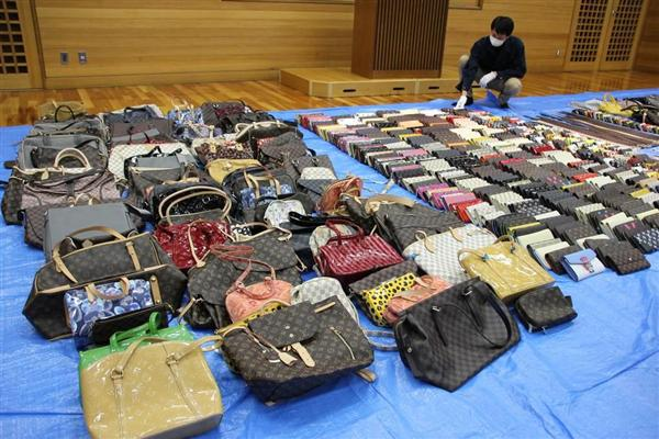 偽ブランド品店経営の54歳韓国人...