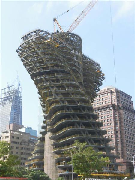 複雑すぎる構造の不思議な建物 熊谷組が台北で建設中(1/2ページ) , 産経ニュース