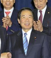 日韓議員連盟会長の額賀福志郎・額賀派会長