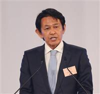 民進党の松野頼久氏