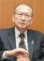 連合の神津里季生会長(伴龍二撮影)
