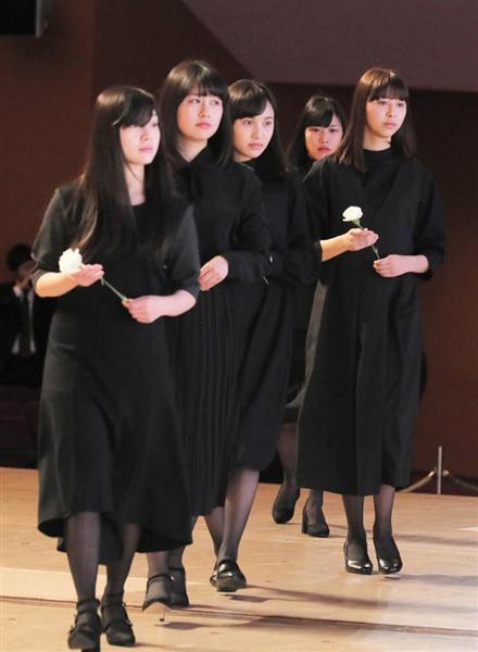 【18歳アイドル急死】エビ中・松野莉奈さんを送る会に2万人 メンバー涙こらえ気丈に振る舞う , 産経ニュース