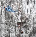 機体の2人、意識不明 残る4人、早朝から救助再開へ
