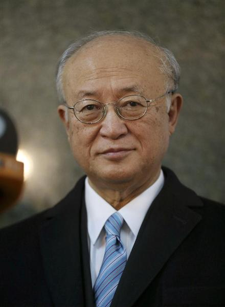 IAEA理事会、天野之弥事務局長を...