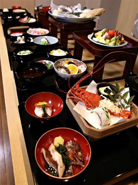 """天下の台所""""江戸時代の本膳料理..."""