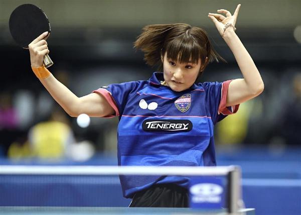 卓球】世界選手権代表の17歳の加...