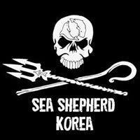 フェイスブック上の公式サイトに掲載されている「SEA SHEPHERD KOREA」のロゴ