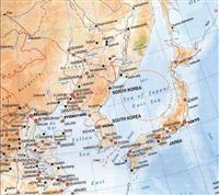 ソウルの東北アジア歴史財団が収集した「東海」併記の地図(Atlas : Singapore and the world, Pearson Education South Asia, 2008:2nd Edition)=同財団の資料集「East Sea In World Maps」(電子版)から